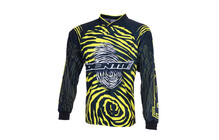 Identiti Team Race Shirt men schwarz/gelb